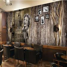 People Photo Mural Wallpaper for Living Room Restaurant Coffee Shop Wall  Decor Paiting Wall Sticker Custom Size
