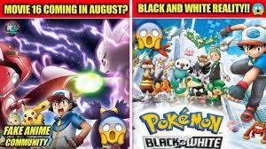Pokemon Movie 16 Coming Today ??|| Pokemon Black And White Hindi Dub Coming  Soon #fakenewscommunity - YouTube