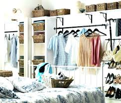 open closet bedroom ideas. Open Closet Ideas For Small Spaces Bedroom With Traditional Clothes Hangers Industrial