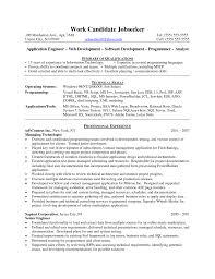 Software Engineer Resume Sample Sample Senior Software Engineer Resume Therpgmovie 84