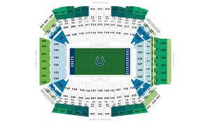 Indianapolis Colts Seating Chart Indianapolis Colts Home Schedule 2019 Seating Chart