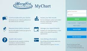 Henry Ford My Chart Mychart Hfhs Org Henry Ford Health System My Chart Login