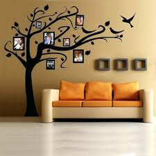 family tree wall decal stencils for walls large stencil decals