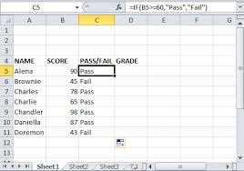 Multiple If Statements In Excel Nested Ifs And Or With Examples