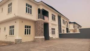 five bedroom house. well built newly five bedroom semi detached house with bq
