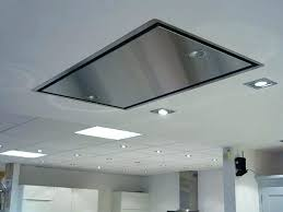 flush mount kitchen exhaust fan implausible ceiling range hood ideas on a budget decorating 2
