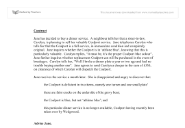 contract law an example case university law marked by document image preview