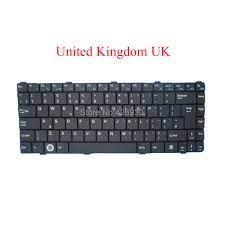 Laptop US UK Keyboard untuk Eurocase E2 SB E4 P10 Amerika Serikat Inggris  Raya Hitam Baru|Keyboards