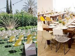 outdoor wedding furniture. alternative wedding chairs the eames dws chair midcentury modern outdoor furniture