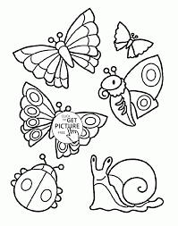 Small Picture Summer Animals coloring page for kids seasons coloring pages