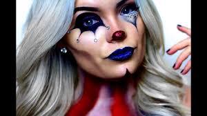 american horror story freak show circus makeup tutorial