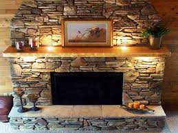 amazing stone for fireplace stone facing awesome stacked stone fireplace ideas