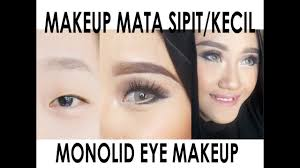tutorial makeup mata sipit monolid darayanza