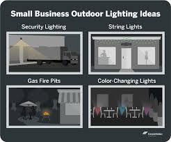Small Business Lighting Energy Efficient Outdoor Lighting Constellation
