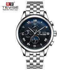 popular watch brands promotion shop for promotional popular watch tevise fashion casual mens watches top brand luxury business automatic mechanical watch men wristwatch relogio masculino