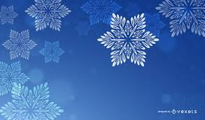 blue and white christmas background. Perfect Blue Blue Christmas Background With White Snowflakes With And