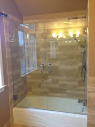 full size of shower design beautiful plush frameless bathtub glass doors applied to your home