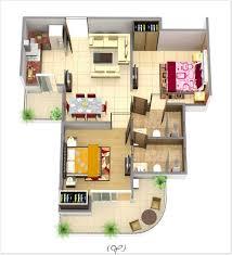 Interior  Bedroomapartmentlayoutmodernlivingroomwith - Interior designing of bedroom 2