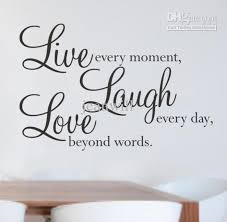 live laugh love wall e decal decor sticker lettering saying vinyl wall art stickers decals stickers