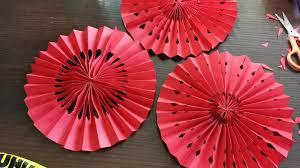 Origami Fan Lantern - DIY <b>Chinese New Year Decoration</b>, wedding ...