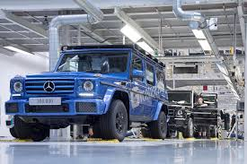 Result was even in the mid 90s a new g wagon would run you $100k easily. Mercedes Benz Builds 300 000th G Class