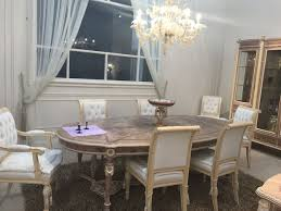 luxury dining room sets. A Lighter Take On Baroque Style Distinguished This Luxury Dining Room. Room Sets E