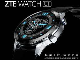 ZTE Watch GT: Renders of large AMOLED ...