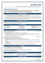 New Grad Nurse Resume | Resume Badak