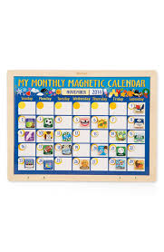 Melissa Doug Personalized My Monthly Magnetic Calendar