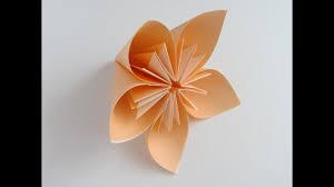 Paper Folded Flower Origami Kusudama Flower