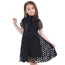 Kid Dress For <b>Girls</b> Short Sleeved Children Clothes Dot <b>Girls</b> ...