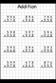 3 Digit Addition With Regrouping – Carrying – 6 Worksheets / FREE ...