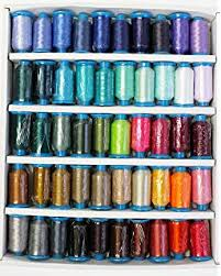 Amazon Com Marathon Polyester Embroidery Thread 20 Basic