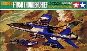 Tamiya #60029 - 1/100 F-105D Thunderchief