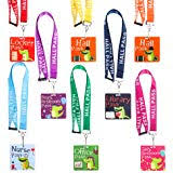 Hall Passes For School Amazon Com Giftexpress Hall Pass Lanyards And School Passes Set Of