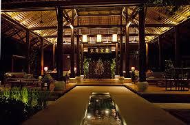 Resort Lighting Design Open Air Thai Style House Decor Great Lighting Design At