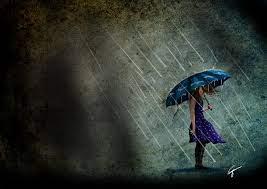 Sad Girl In Rain Wallpaper HD 21223 ...