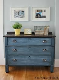Remarkable Design Blue Painted Furniture Spectacular Inspiration
