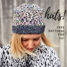if didn t already know veronica at stash 3 hats and is gleeful whenever there is a reason to wear one here are some choice hand picked patterns from