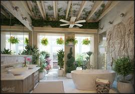image unique bathroom. Unique Bathroom Design With Plants Image M