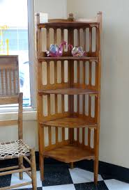 corner decoration furniture. Furniture Classic Style Wood 5 Tiered Corner Shelf Unit For With The Awesome And Also Stunning Wooden Shelves Intended Desire Decoration M