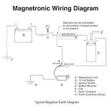 wiring diagrams for classic car parts from holden vintage 6 Volt Positive Ground Wiring Diagram magnetronic lucas clockwise 22d 23d 25d 6 cyl distributors ih cub 6 volt positive ground wiring diagram