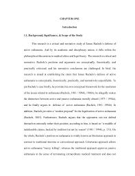 james rachels s defense of active euthanasia a critical normative 11
