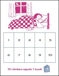 Random Bits Sleep Chart Make It For Kids Reward Chart