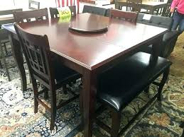 table with lazy susan built in dining room table with lazy round dining room table with