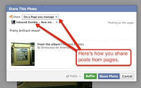 how to use facebook graph and interests lists for content how to share posts to your facebook page