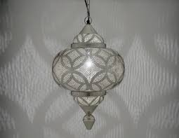 silver moroccan style etched matki
