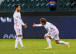 Real Madrid vs Huesca line-ups ...
