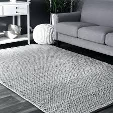light grey area rug woolen cable hand woven light gray area rug