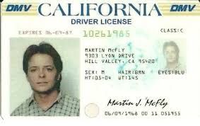 Back Future Mcfly The Fox Driver Michael Lic To J Marty